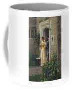 Edmund Blair Leighton 1852-1922 The Request Coffee Mug