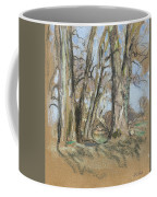 Edouard Vuillard Cuiseaux 1868-1940 La Baule The Park In Clayes. 1932-1938. Coffee Mug