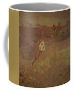 Edouard Vuillard - Walking In The Vineyard Coffee Mug