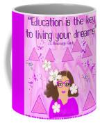 Education Is The Key Coffee Mug