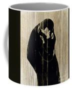 Edvard Munch: The Kiss Coffee Mug