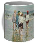 Edward Henry Potthast 1857 - 1927 Summer Day, Brighton Beach Coffee Mug