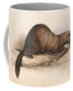 Edward Lear - A Weasel Coffee Mug