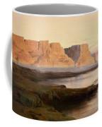 Edward Lear The Rocks At Kasr Es Saad Coffee Mug