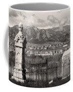 Eerie Cemetery Coffee Mug