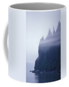 Eerie Seascape With Trees, Cliff Coffee Mug by Rich Reid