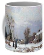 Effects Of Snow Coffee Mug