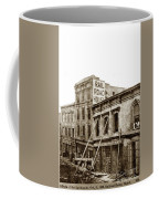 Effects Of The Earthquake, Oct. 21, 1868 Railroad House, Caly St Coffee Mug