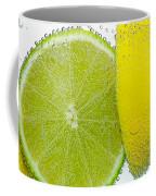 Effervescent Lime And Lemon By Kaye Menner Coffee Mug