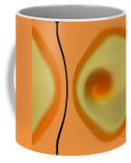 Egg On Broken Plate Coffee Mug