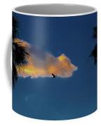 Egressing Egret Coffee Mug
