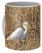 Egret Breakfast Coffee Mug