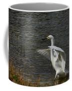Egret Dance Coffee Mug