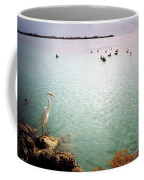 Egret On Marathon Key Coffee Mug