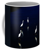 Egret Reflections Coffee Mug by David Lane