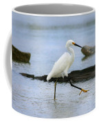 Egret Step Coffee Mug