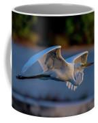 Egret Sunset Coffee Mug