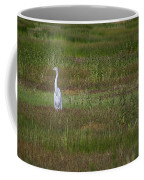 Egrets In A Field Coffee Mug