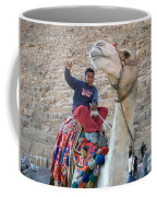 Egypt - Boy With A Camel Coffee Mug