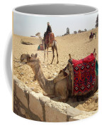 Egypt - Camel Getting Ready For The Ride Coffee Mug