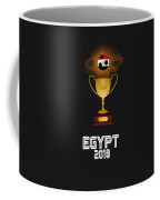 Egypt 2018 Soccer Tournament Trophy Russia Coffee Mug