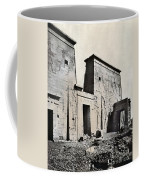Egypt: Temple Of Isis Coffee Mug by Granger