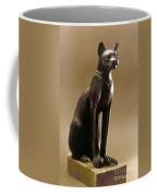 Egyptian Bronze Statuette Coffee Mug