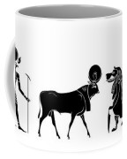 Egyptian Gods And Demons Coffee Mug by Michal Boubin