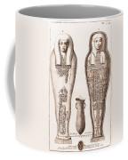Egyptian Mummy, Illustration Coffee Mug
