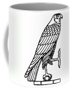 Egyptian Symbol: Falcon Coffee Mug