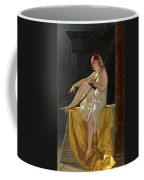 Egyptian Woman With Harp Coffee Mug