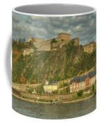Ehrenbreitstein Fortress On The Rhine Coffee Mug