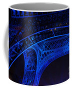 Eiffel Blue Coffee Mug