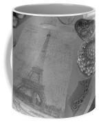 Eiffel Shades Of Grey Coffee Mug