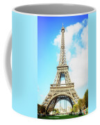 Eiffel Tower Portrait Coffee Mug