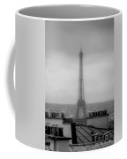 Eiffel Tower And Rooftops, Paris Coffee Mug