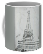 Eiffel Tower Coffee Mug