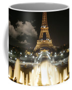 Eiffel Tower At Night Coffee Mug