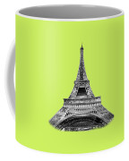 Eiffel Tower Design Coffee Mug