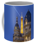 Eiffel Tower From Passy Coffee Mug by Brian Jannsen