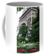 Eiffel Tower Garden Coffee Mug