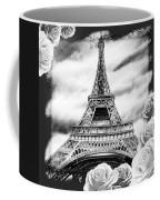 Eiffel Tower In Black And White Design IIi Coffee Mug
