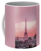 Eiffel Tower Sunset Art Coffee Mug