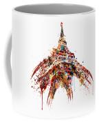 Eiffel Tower Watercolor Coffee Mug