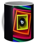Eight Ball In Box Coffee Mug