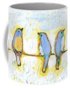 Eight Little Bluebirds Coffee Mug