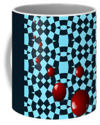 Eight Red Balls Coffee Mug