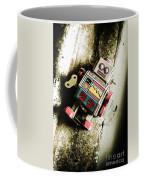 Eighties Cybernetic Droid  Coffee Mug