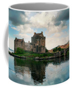 Eilean Donan Castle On A Cloudy Day Coffee Mug