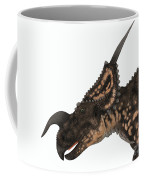 Einiosaurus Dinosaur Head Coffee Mug